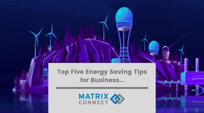 Energy Saving Tips for business